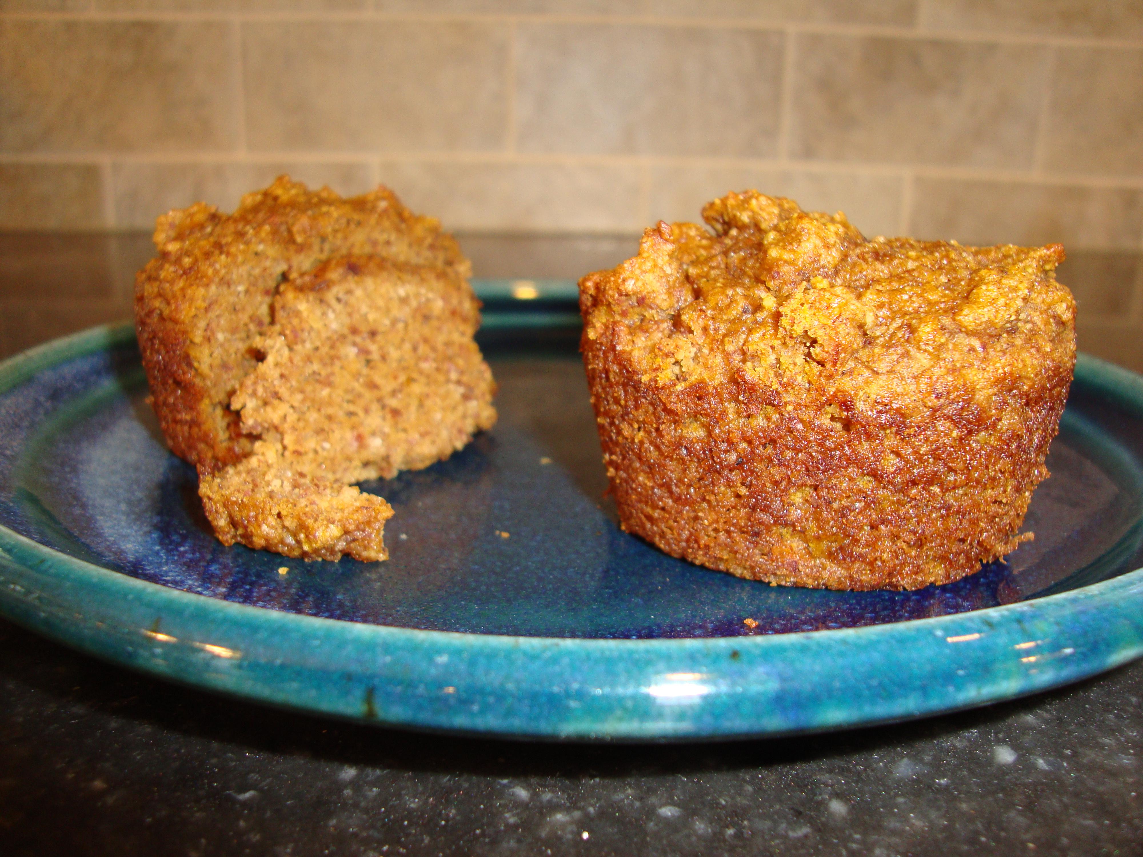 Dairy-free, Gluten-free Pumpkin Muffins